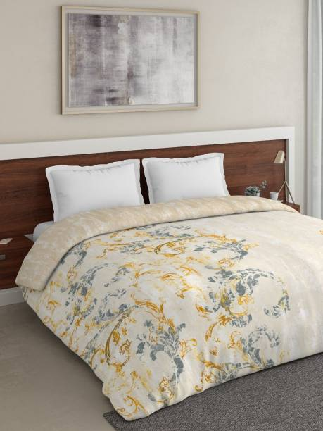 DDECOR Live beautiful Motifs Double Comforter