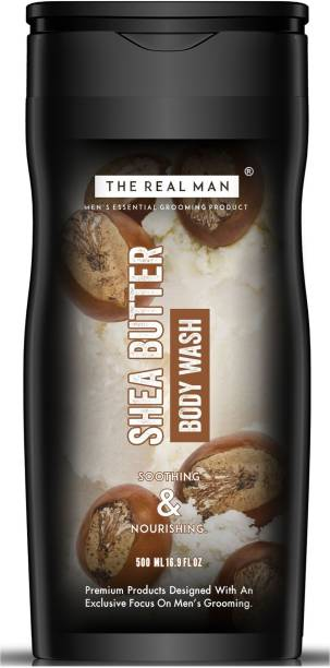 THE REAL MAN Shea Butter Body wash 500ml | Made In India.