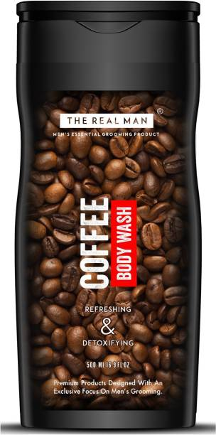 THE REAL MAN Coffee Body Wash 500ml | Made In India.