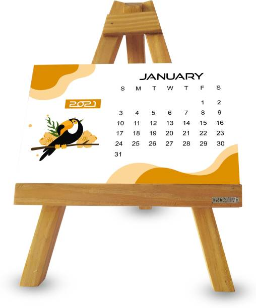 Xreative XR1410 2021 Table Calendar