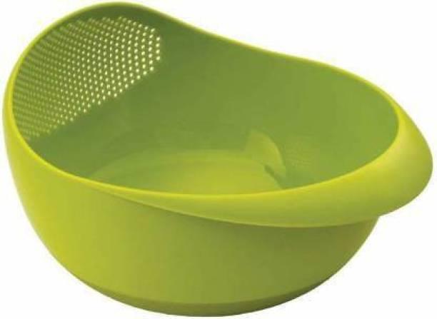 Innovegic Washing Bowl Strainer- for Rice, Pulses, Fruits & Vegetables Strainer