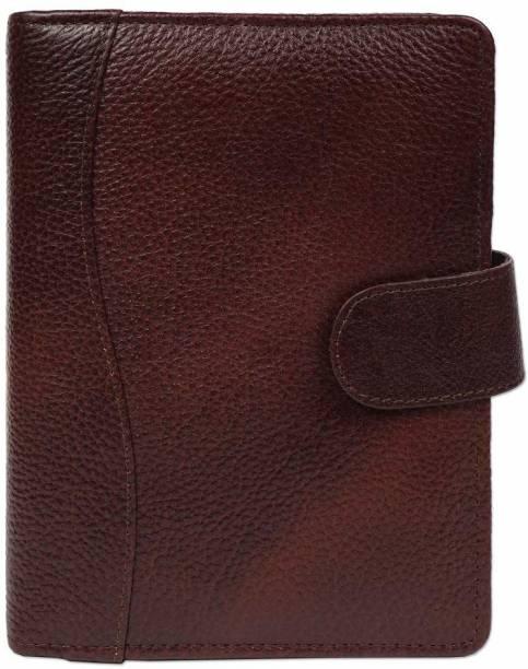PAPERLLA Textured Brown Professional Organizer Dated Diary - 2021 /Designer Faux Leather Daily Planner and Diary for Business Interviews and Corporate Meetings. A5 Diary RULED 314 Pages