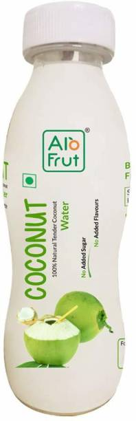 ALOFRUT Tender Coconut Water 200ml   Rich Source of Potassium   Natural Source of 5 Essential Electrolytes   No Added Sugar, Artificial Flavour & Colour   Zero Fat & Cholesterol   Pack of 24