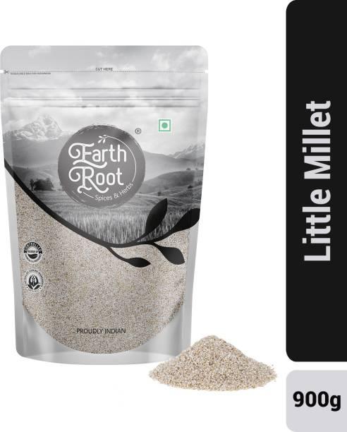 EARTHROOT Natural Unpolished Little Millet / Sama / Samai / Kutki - 900 g