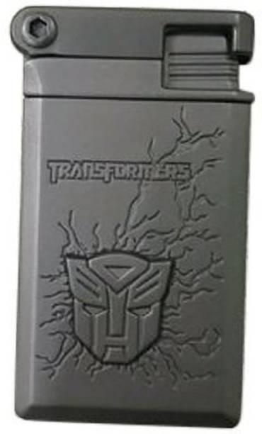 GLOV Transformer Smoking Cigar Cigarette Lighter | Jet Flame Lighter|pocket lighter(Grey) Brass Gas Lighter