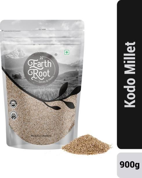 EARTHROOT Natural Kodo Millet (Kodra / Haraka / Kodon / Arikelu / Varagu / Arka) - 900 g Kodo Millet