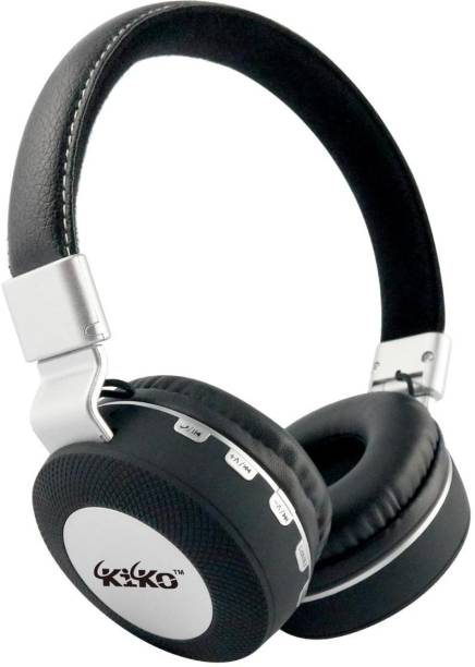 Kiko NS-1 Wirelesss Bluetooth Headphone with mic & Aux supported Bluetooth Headset