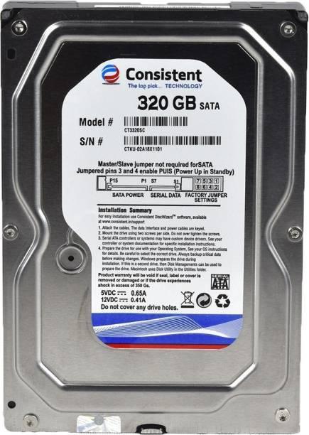 Consistent 320 320 GB Desktop Internal Hard Disk Drive (320gb)