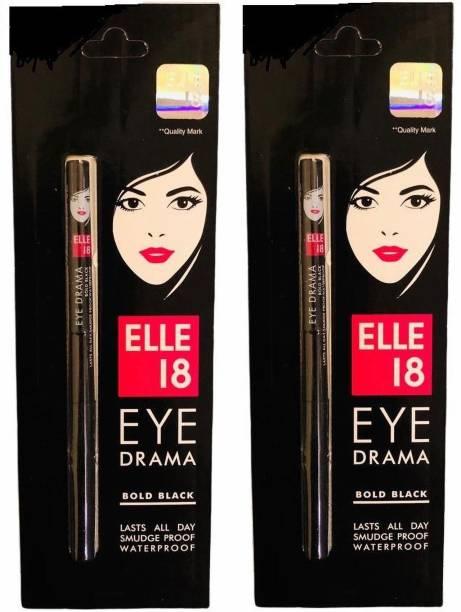 ELLE 18 Bold Black Kajal