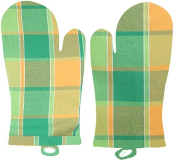 SBN Newlifestyle Green Cotton Kitchen Linen Set