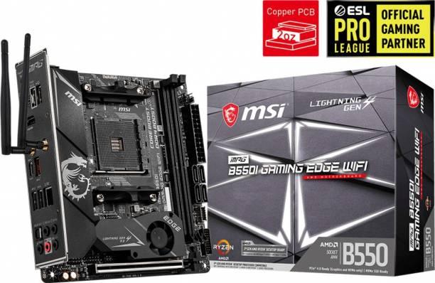 msi MPG B550I GAMING EDGE WIFI Mini-ITX AM4 Gaming Motherboard