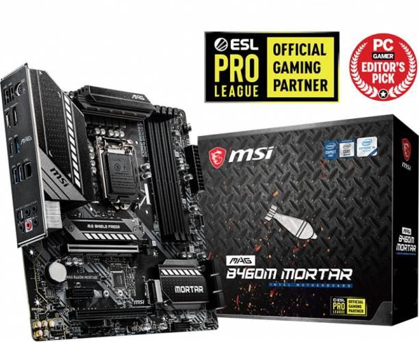 MSI B460M MORTAR Mini-ATX LGA 1200 Gaming Motherboard