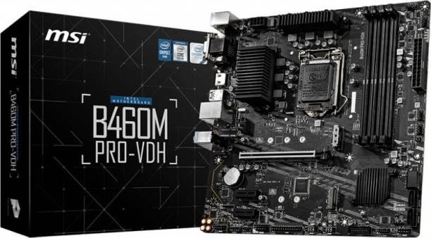 MSI B460M PRO-VDHMATX LGA 1200 Gaming Motherboard