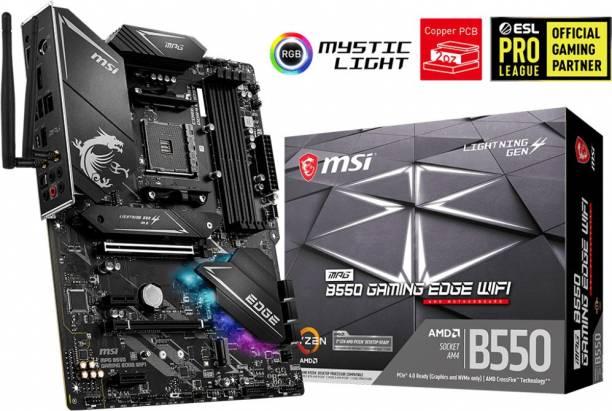 MSI MPG B550 GAMING EDGE WIFI ATX AM4 Gaming Motherboard