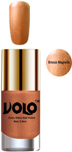 Volo Professional Infinite Nail Polish Collection With Ultra Smooth Flat Brush Combo No-762 Brown