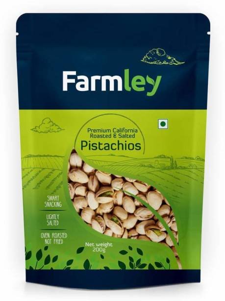 Farmley Premium California Roasted & Salted Pistachios