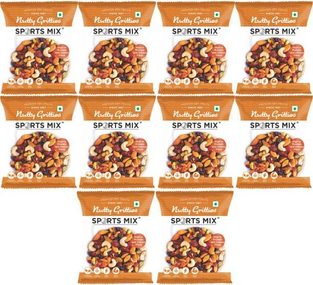 Nutty Gritties Sports Mix-Dryfruits (Almonds, Cashews, Pistachios, Cranberries, Blueberries, Raisins)