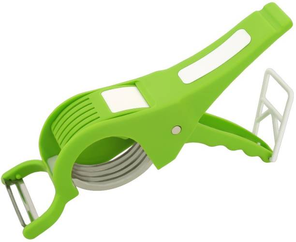 kewin vegetable cutter with peeler for fruit and vegetable with 5x stainless steel sharp blade vegcutter Straight Peeler