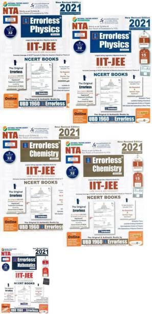 Errorless NTA/JEE Physics Chemistry And Mathematics ( Combo.) 2021