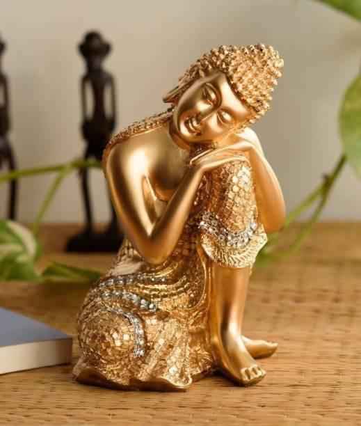 Miss Peach Vastu Fangshui Religious Idol of Lord Gautam Buddha Statue Big Size Idols|Meditating Buddha Idols| lordbuddha statue in Religious Idols| sitting buddha statue|decoration items for house|handicraft home decor|showpiece figurine|home decor showpieces |table decorations items|Lord Buddha idols for gift, home & Showpiece |Buddha showpieces|buddh bhagwan|handicraftitems| decorativeitems|statues|Statue of gods|Buddha Statue for home|buddha statue big size|Relaxing Buddha Statues in Religios Idols & Spiritual & Festive Decor| Showpieces &Figurines| Showpiece for living room |Showpiece in home| Decorative Showpiece  -  20 cm