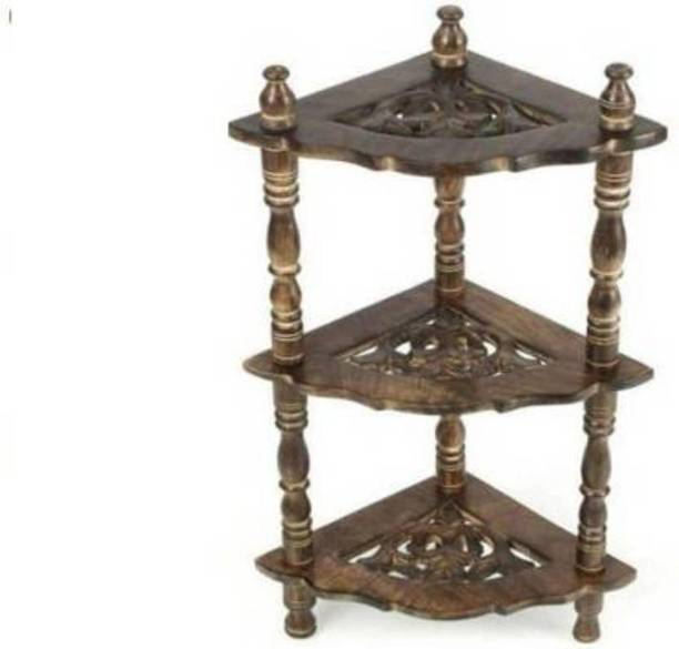 Sf Handicaft Solid Wood Corner Table