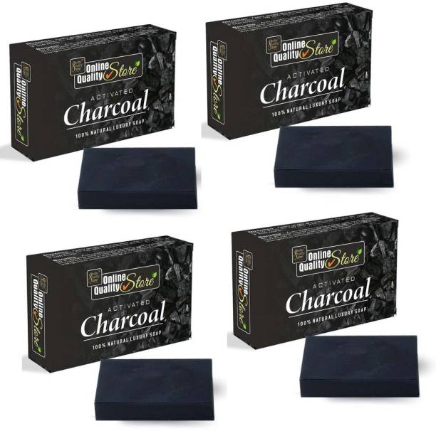 Online Quality Store Activated Charcoal Soap for face and Body Wash