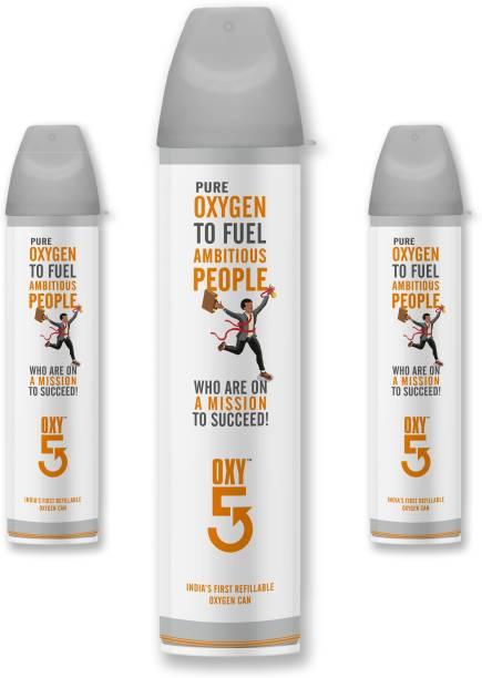 OXY5 Portable Oxygen Can 3 pcs Portable Oxygen Can