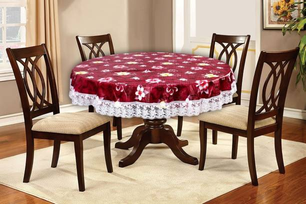 The Furnishing Tree Floral 4 Seater Table Cover