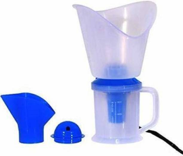 VEERA ZONE 3 in 1 Vaporizer machine Facial Steamer and Nose Steamer Vaporizer (White, Blue) Vaporizer