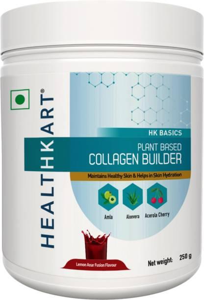 HEALTHKART Plant Based Collagen Builder,Lemon Anar Fusion