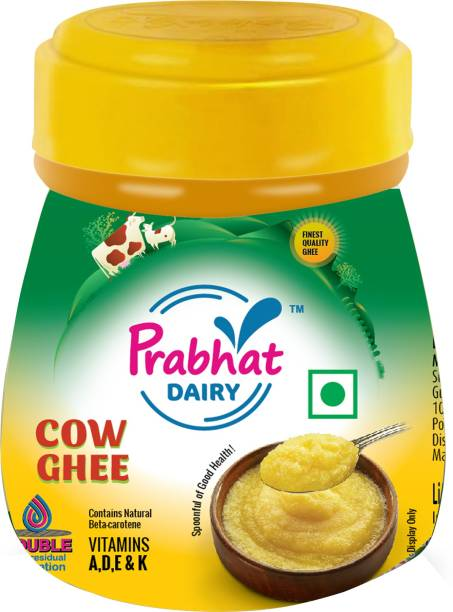 Prabhat Dairy Ghee 100 ml Plastic Bottle