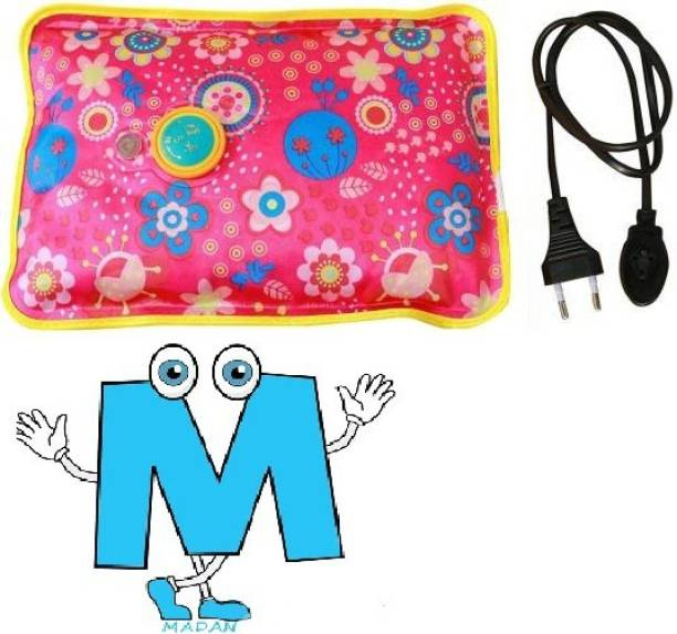 Madan New Original Electric Warm Gel Bag With Auto Cutoff for Joint/Muscle Pain electric 1 L Hot Water Bag(Multicolor) Electric Water Bag 1 L Hot Water Bag(Multicolor) Electrical 1 L Hot Water Bag