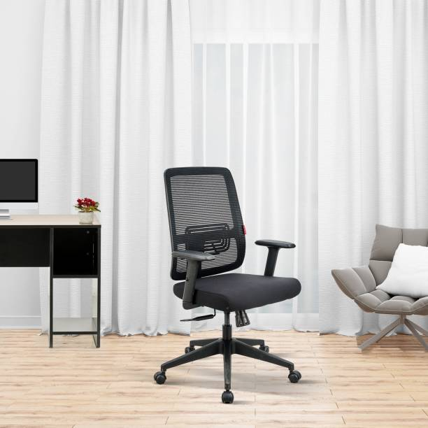 Featherlite Versa MB Mesh Fabric Office Adjustable Arm Chair
