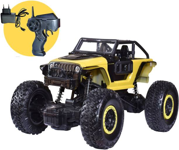 Toyshack 1:20 Off Roader Rock Crawler Rechargeable Truck with 2.4Ghz Remote Control Toy for Kids | Drive on Sandy, Rocky, Grassland