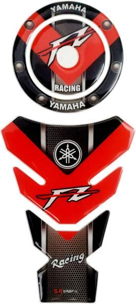 S.R Grafix Yahama FZ Bike Tank Pad