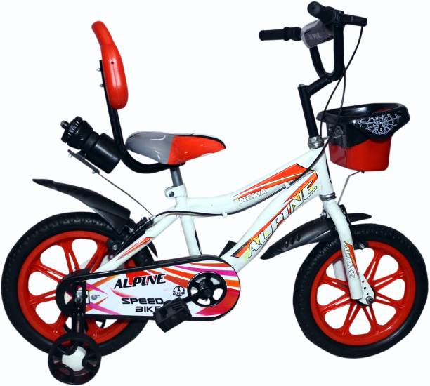 Alpine Bmx smart Red White unisex bicycle for kids 2-5 years 14 T BMX Cycle