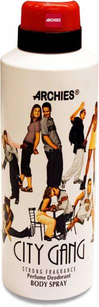 ARCHIES Deo City Gang -Body Spray 175ml (PACK 4) Deodorant Spray  -  For Men & Women