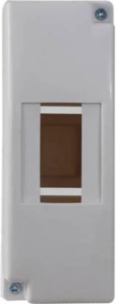Suntech Industries SU8NTECH 1/2 POLE ENCLOSURE PLASTIC ABS DISTRIBUTION BORD MCB BOX ( 02 ) ( 102 ) Distribution Board