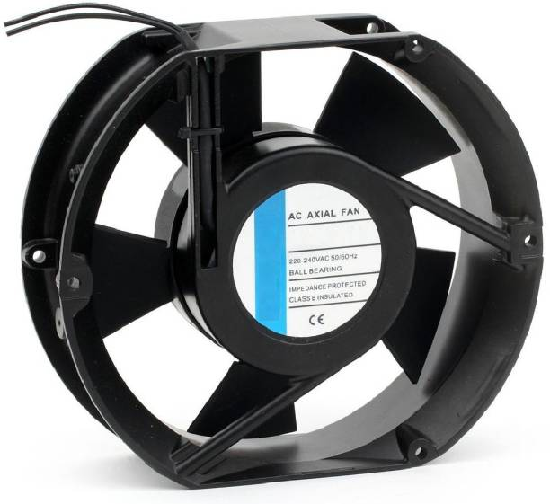 """BALRAMA 6"""" Oval AC Fan 6 Inch Panel Axial Cooling Fan Electrical Motor Industrial Exhaust Cooler"""