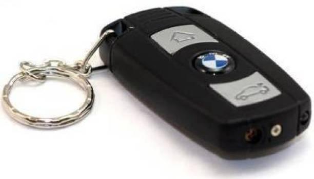 GLOV BMW fancy Cigarette Lighter With LED Light BMW Cigarette Lighter Pocket Lighter (Black) Plastic Gas Lighter