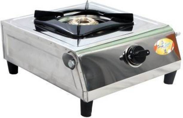 Yash Collections Surya Stainless Steel Manual Gas Stove (1 Burners Stainless Steel Manual Gas Stove