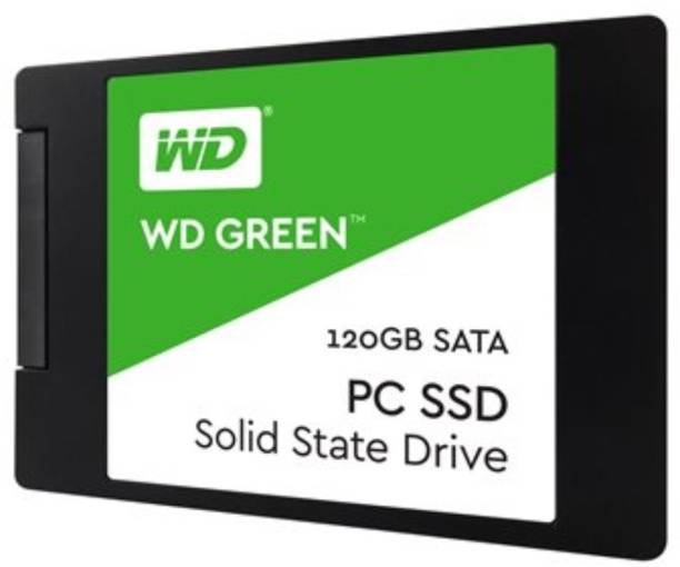 WD Green SATA 2.5/7mm disque 120 GB Laptop, All in One PC's, Desktop Internal Solid State Drive (WDS120G2G0A)