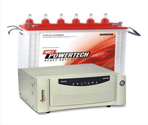 POWER TECH PT800(TT)+EB700 Tubular Inverter Battery