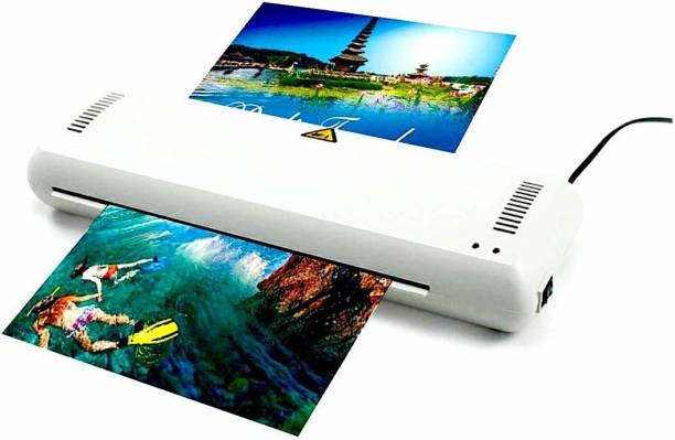 GOBBLER No.8313 2 in 1 A3 & A4 Lamination Machine/Laminator with Jam Release Button | Supports Hot & Cold Lamination | All-in-one Lamination Machine | Off-White Plastic Body 12.6 inch Lamination Machine