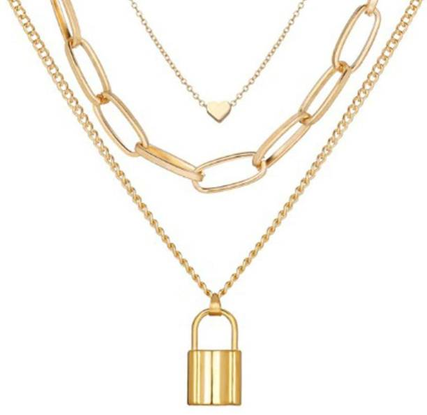YouBella Gold-plated Plated Alloy Necklace