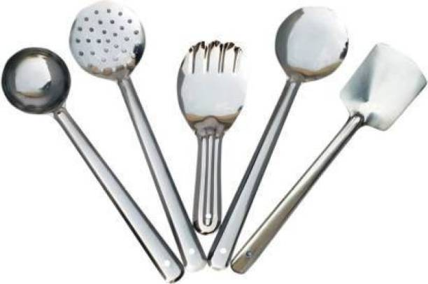 Kitchen flow Stainless steel Serving spoons set Stainless Steel Serving Spoon Set