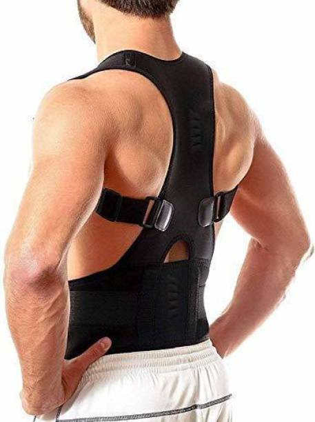 Merrin Unisex Magnetic Posture Corrector for Lower and Upper Back Pain Relief Back Support