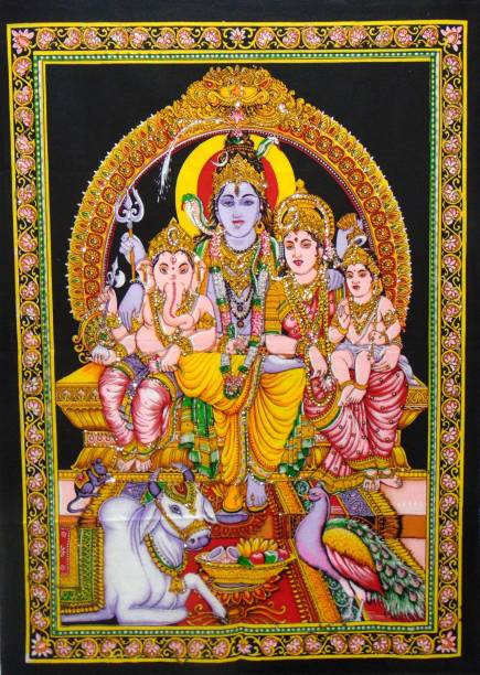 Heyrumbh Handicrafts Religious Tapestry