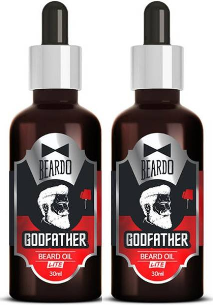 BEARDO Godfather Lite Beard Oil Combo With Natural Ingredients Hair Oil