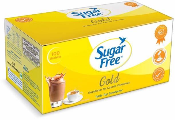 Sugar free S Free Gold sachet, 100 sachet Sweetener